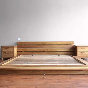 Letto Jap big size teak massello