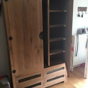 Armadio Dispensa teak Canton 890€