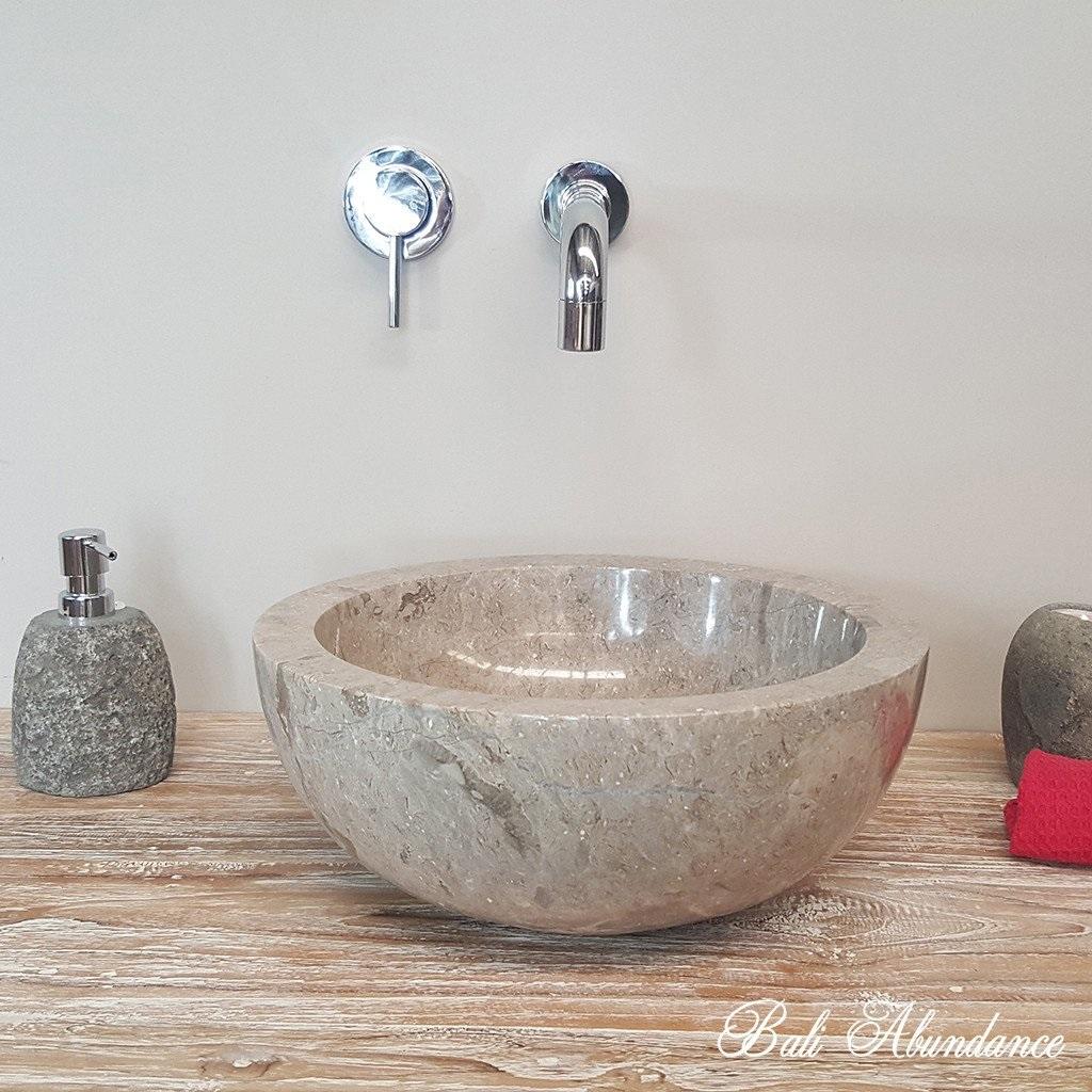 Bagno Con Lavello In Marmo O Pietra Giallosun