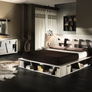 Letto Cross white